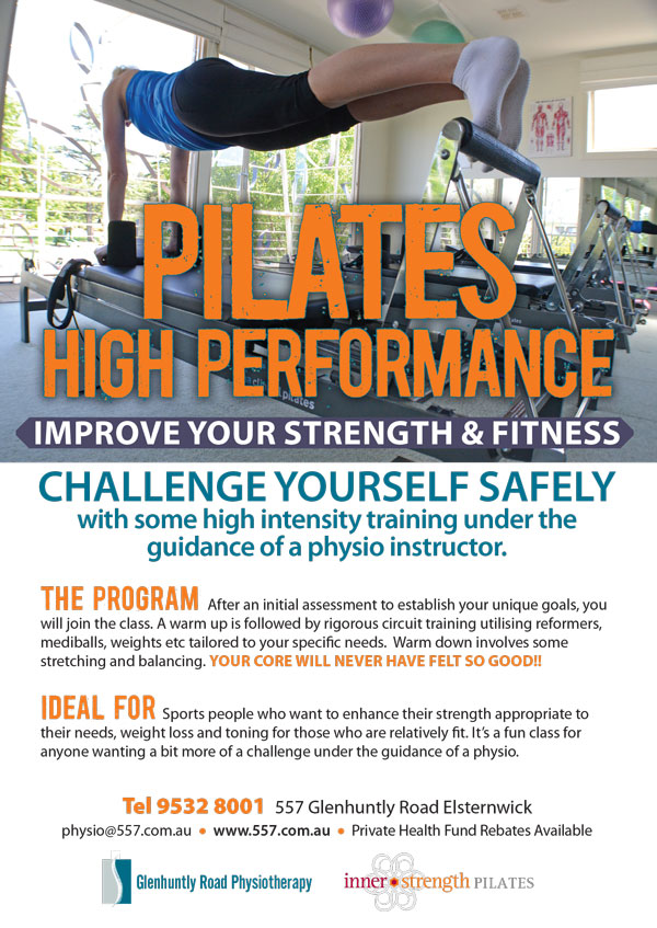 Pilates High performance Elsternwick Melbourne - Pilates Melbourne -  Ski strength -