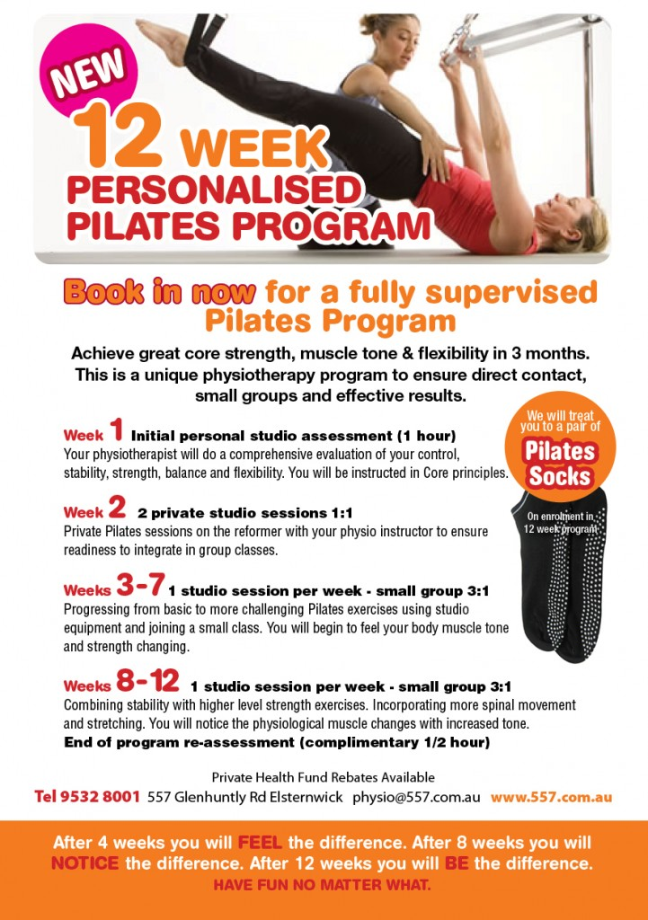 12 class pass |Pilates Classes Melbourne