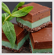 choc mint_Glenhuntly Road Health Clinic_Choc mint treat_ choc mint slice dessert_
