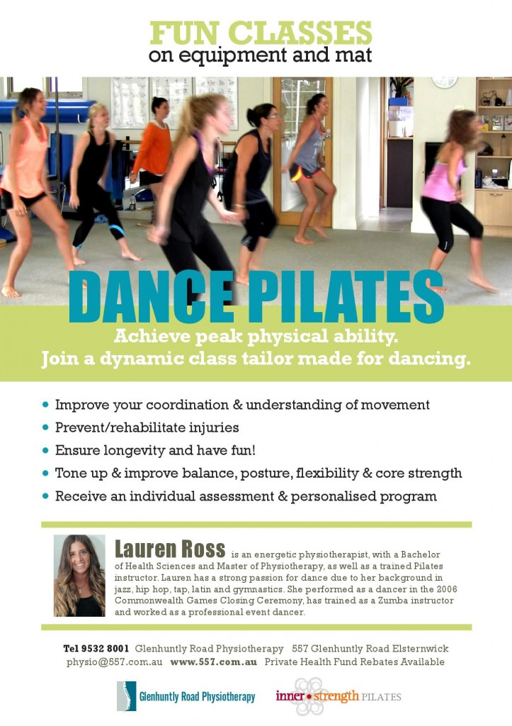 Dance Pilates Classes Inner Strength Pilates Melbourne